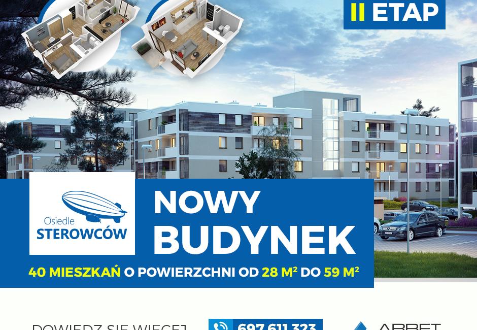 40 nowych mieszkań w ofercie! Rusza sprzedaż II etapu Osiedla Sterowców