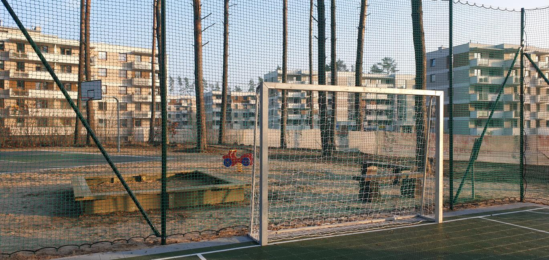 Boiska i nowy plac zabaw na Osiedlu Sterowców
