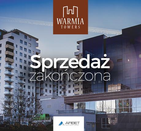Nie ma już mieszkań na sprzedaż w Warmia Towers